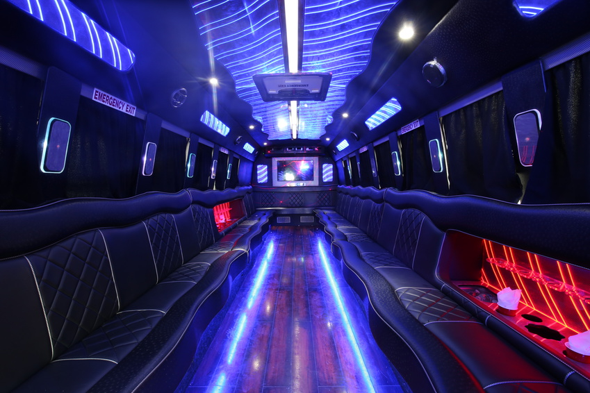 how big of a party bus do i need